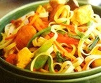 Slimming World - Mixed Vegetable Chow Mein