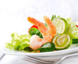 Slimming World - Summer Prawn Salad