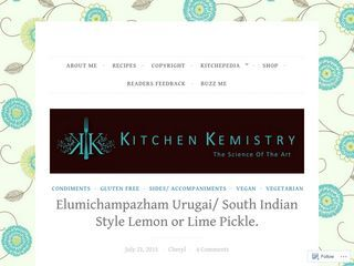 kitchen kmistry