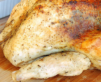 The Best Ever Herb Roasted Turkey