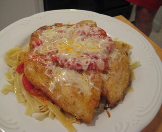 Hell's Kitchen Chicken Parmesan