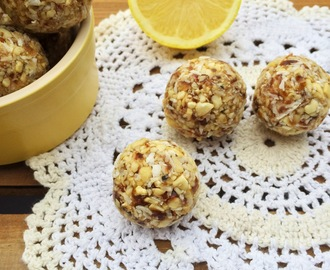 Back From a Break and a Lemon & Coconut Bliss Ball Recipe