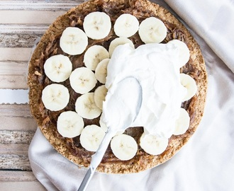 Recept / healthy banoffee pie