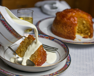 Whiskey Marmalade Steamed Pudding. So good, I cooked it twice!