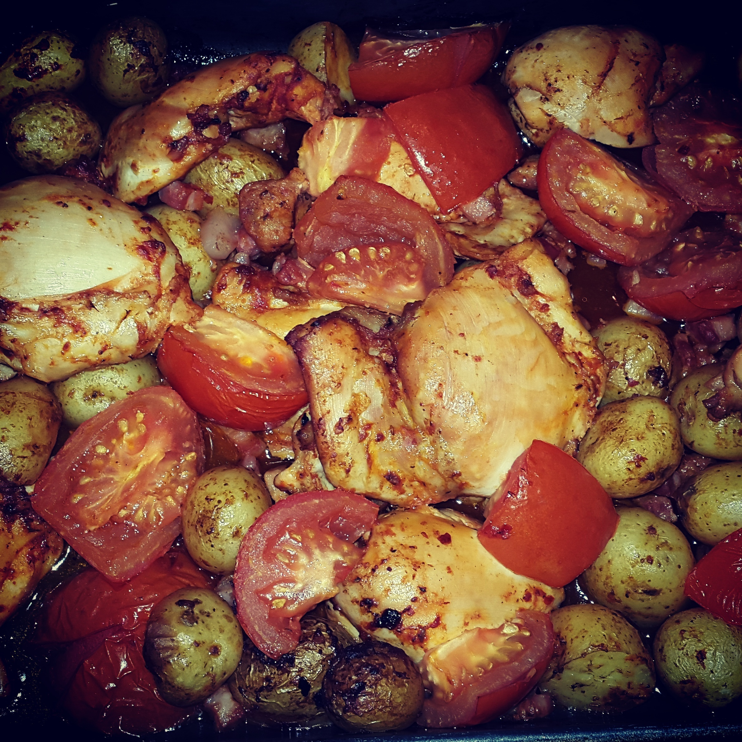 Things I have been cooking lately #106: Italian chicken bake