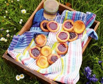 Rainbow Jam Tarts – A Great Mother's Day Treat