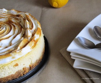 CHEESECAKE CITRON MERINGUE