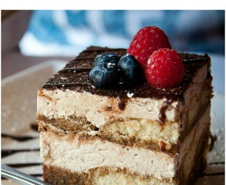 Ten-minute TIRAMISU recipe