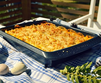 Myskikurpitsa Mac' n cheese / Butternut squash mac' n cheese