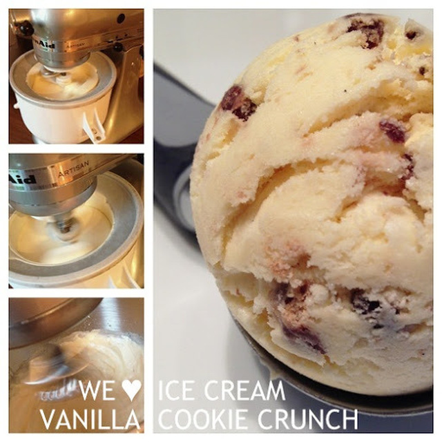 [941] WE ♥ ICE CREAM: VANILLA COOKIE CRUNCH