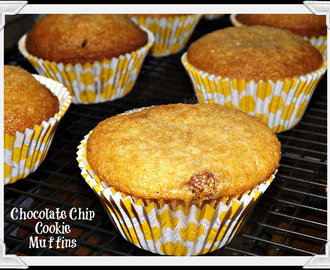 Chocolate Chip Cookie Muffins!