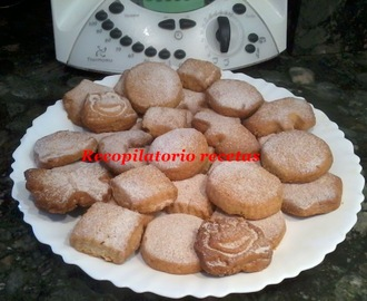 Galletas de nueces con toque a canela en thermomix