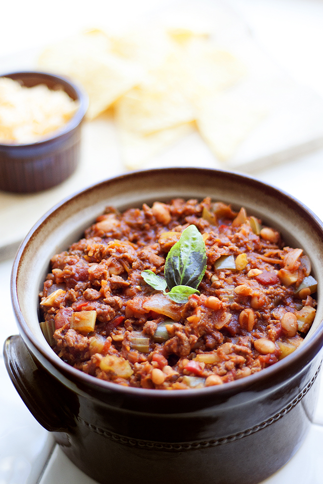 Homemade Vegetarian Chilli Recipe