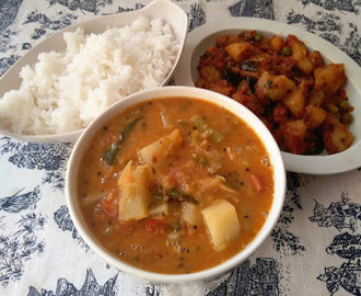 Kadamba (Mixed Vegetable) Sambar