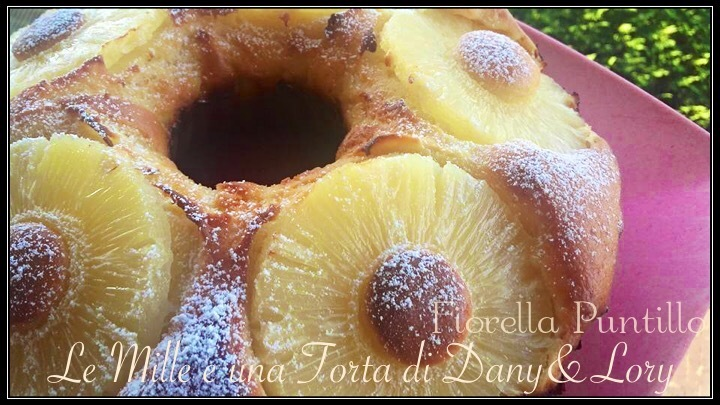 CIAMBELLA LIGHT ALL'ANANAS