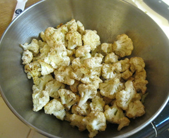 Spicy Cajun Cauliflower Snack