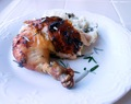 How to Roast a Chicken - Roasted Chicken with Lemons and Rosemary
