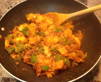 Aloo Mirchi / Potato with Capsicum