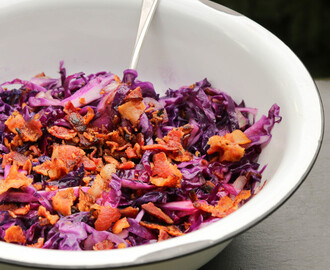 Sautéed Red Cabbage with Bacon