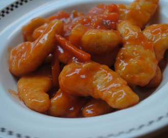 Cheating Sweet and sour chicken recipe for students