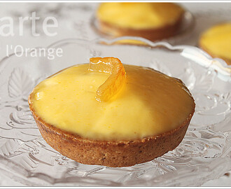 Tartelettes à l'orange