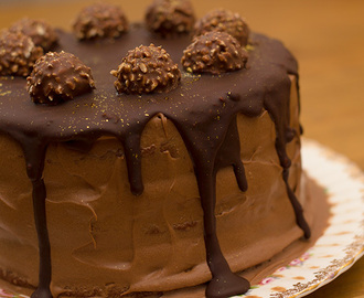 Ferrero Rocher Cake Recipe