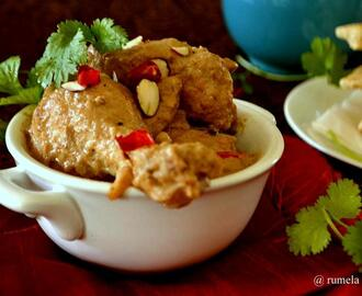 Murgh Badami : Chicken in Almond Sauce