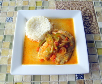 Tilapia with Coconut Sauce