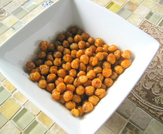 Healthy Snack: Chickpea Poppers