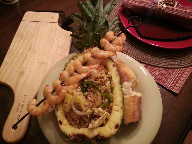 The Pineapple Express – Thai Chili Shrimp and Pineapple Fried Rice