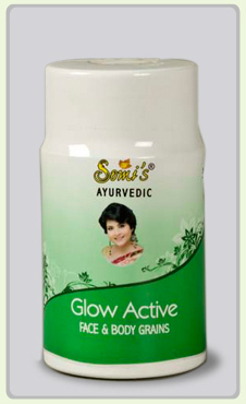 Somi's Ayurvedic Glow Active Face and Body Grains - Review