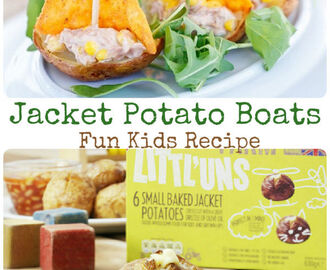 Jacket Potato Boats Recipe