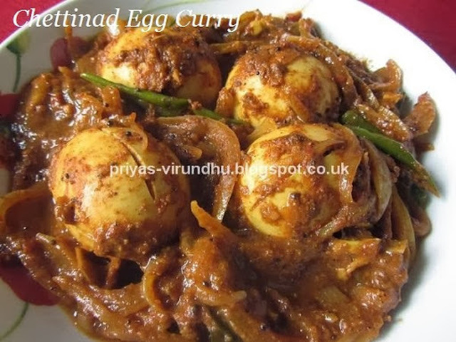 Chettinad Egg Curry – TamilNadu Special