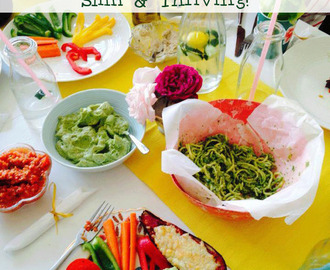 Eat to Flourish: Tasty Meals to be Healthy, Slim & Thriving!