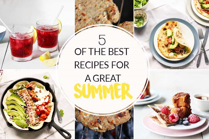 5 recipes for a great summer