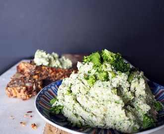 Broccoli tofu spread
