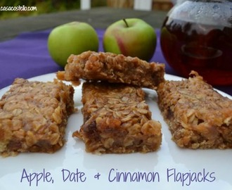 Apple, Date & Cinnamon Flapjacks – Bake of the Week