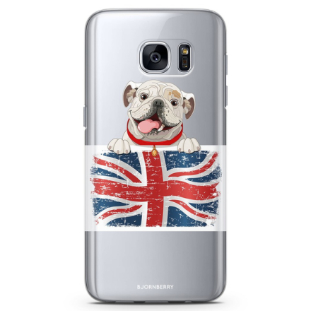 Bjornberry samsung galaxy s7 tpu skal - english bulldog