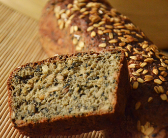 golden hamster bread - a bread based on wheat sourdough full of healthy seeds