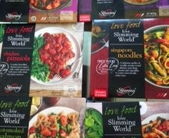 Review - new Slimming World ready meal range