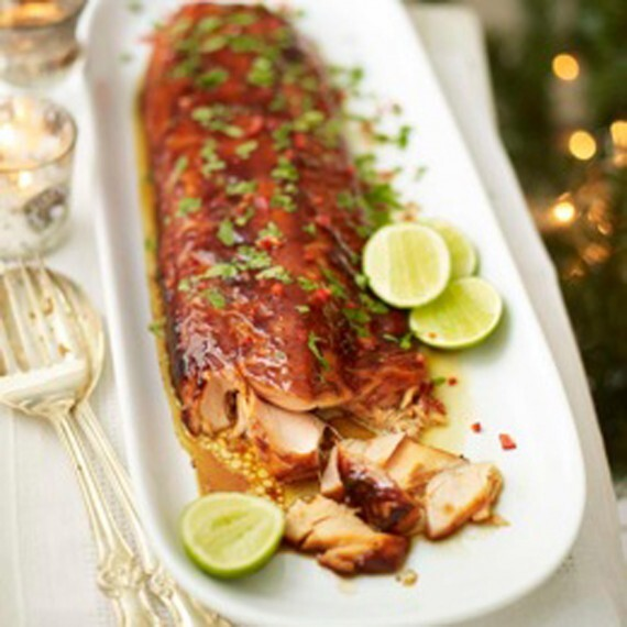 Asian sticky salmon recipe