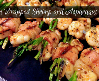 Bacon Wrapped Shrimp and Asparagus Rolls Recipe