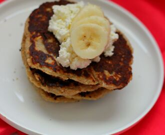 Cottage Cheese Banaan Pannenkoeken