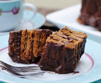 Kiksekage~ Chocolate biscuit cake Secret Recipe Club Challenge 13th October 2014