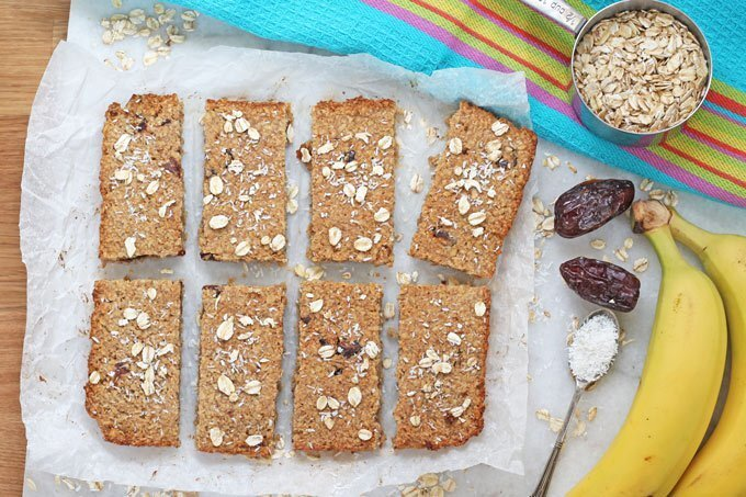 Sugar Free Flapjacks for Baby Led Weaning