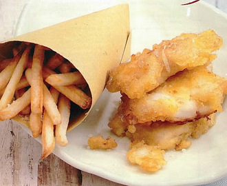 FISH & CHIPS (PESCE FRITTO CON PATATINE)