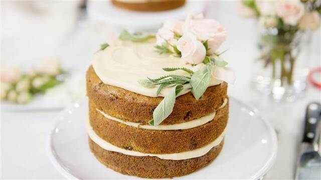 Gluten-Free Carrot Cake with Vegan Cream Cheese Frosting