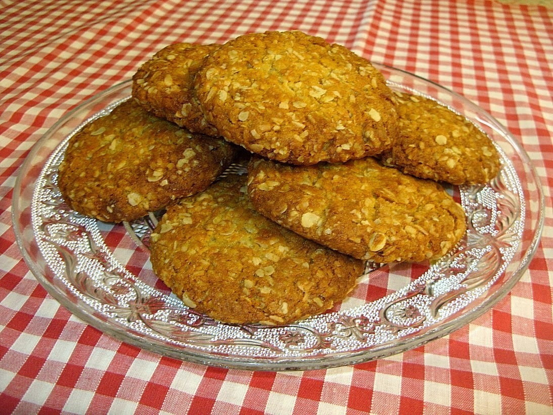 Anzac biscuits - a terrific emergency biscuit recipe