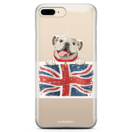 Bjornberry iphone 7 plus tpu skal - english bulldog