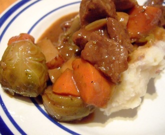 Beef Etc. Stew with Potato, Celeriac Mash